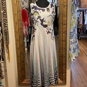Lior tea length dress